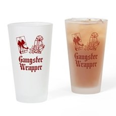 Gangster Wrapper Pint Glass