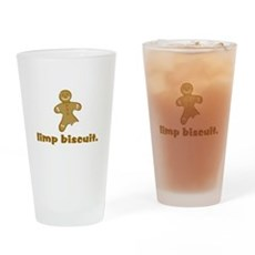 limp biscuit Pint Glass