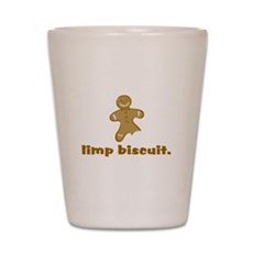 limp biscuit Shot Glass