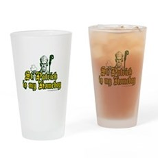 St. Patrick is my Homeboy Pint Glass