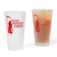 Support Independent Horrors Pint Glass