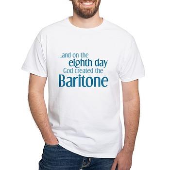 Baritone Creation White T-Shirt