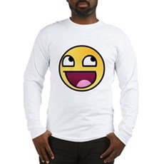 Awesome Smiley Long Sleeve T-Shirt