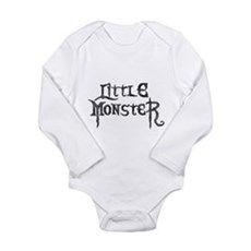Little Monster Long Sleeve Infant Bodysuit