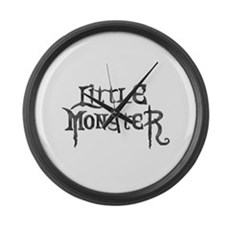 Little Monster Large Wall Clock