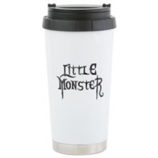 Little Monster Stainless Steel Travel Mug