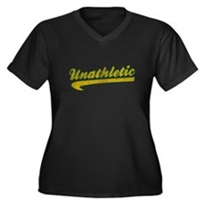 Unathletic Plus Size V-Neck Shirt