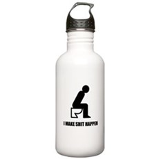 I Make Shit Happen Stainless Water Bottle 1 Liter