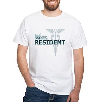Seattle Grace Hospital Resident White T-Shirt