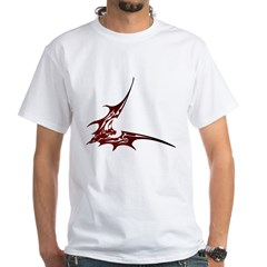 Vampire Bat 1 White T-Shirt