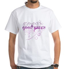 Graphic Good Witch White T-Shirt