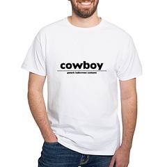 generic cowboy costume White T-Shirt