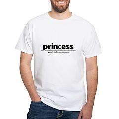 Generic princess Costume White T-Shirt