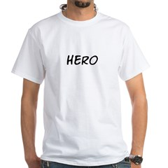 HERO White T-Shirt