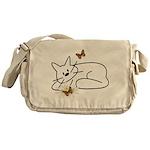 Doodle Cats Messenger Bags