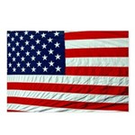 American Flag Post Cards