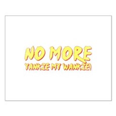No More Yankie Small Poster