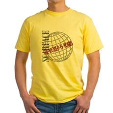 The World Is Yours Yellow T-Shirt