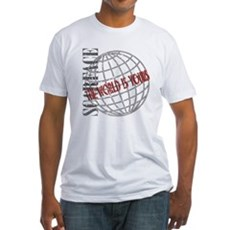 The World Is Yours Fitted T-Shirt