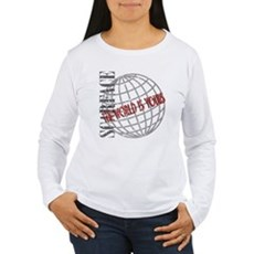 The World Is Yours Womens Long Sleeve T-Shirt