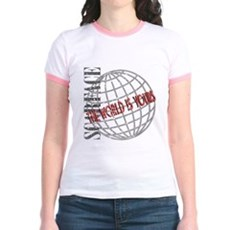 The World Is Yours Jr Ringer T-Shirt