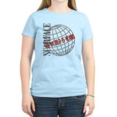 The World Is Yours Womens Light T-Shirt