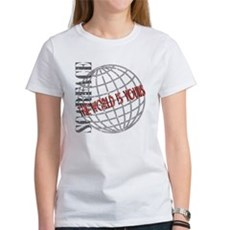 The World Is Yours Womens T-Shirt
