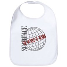 The World Is Yours Bib