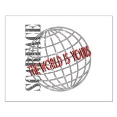 The World Is Yours Small Poster