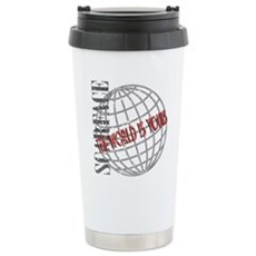 The World Is Yours Stainless Steel Travel Mug