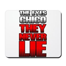 The Eyes Never Lie Mousepad