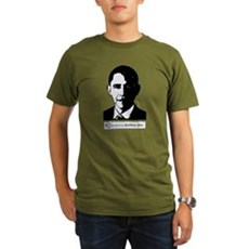 America Dislikes Obama Organic Mens Dark T-Shirt