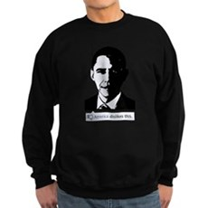 America Dislikes Obama Dark Sweatshirt