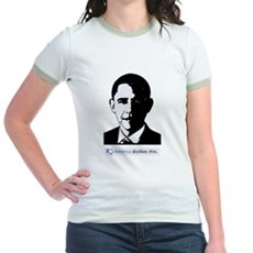America Dislikes Obama Jr Ringer T-Shirt