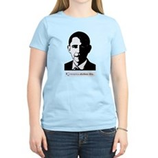 America Dislikes Obama Womens Light T-Shirt