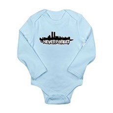 Never Forget 9/11 Long Sleeve Infant Bodysuit