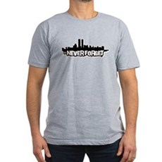 Never Forget 9/11 Mens Fitted Dark T-Shirt