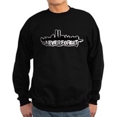 Never Forget 9/11 Dark Sweatshirt