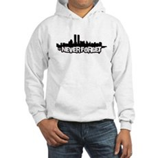 Never Forget 9/11 Hooded Sweatshirt