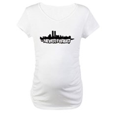 Never Forget 9/11 Maternity T-Shirt