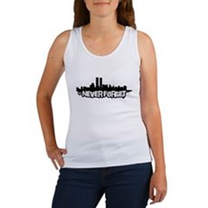 Never Forget 9/11 Womens Tank Top