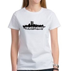 Never Forget 9/11 Womens T-Shirt