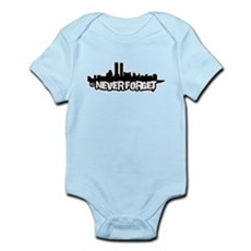 Never Forget 9/11 Infant Bodysuit