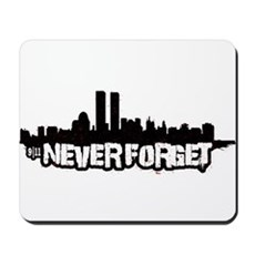 Never Forget 9/11 Mousepad