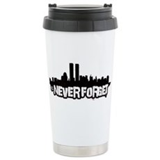 Never Forget 9/11 Stainless Steel Travel Mug