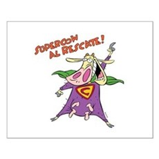 Supercow al Rescate Small Poster