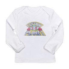 Vintage Captain Planet Long Sleeve Infant T-Shirt