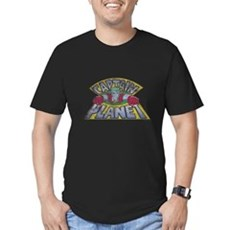 Vintage Captain Planet Mens Fitted Dark T-Shirt
