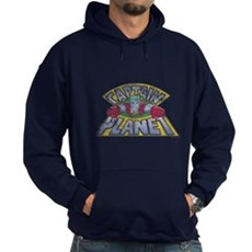 Vintage Captain Planet Dark Hoodie