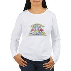 Vintage Captain Planet Womens Long Sleeve T-Shirt